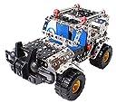 Charming Crew 262 ピース 3D メタリック パズル 金具 金属 組立てキット ジープ SUV 3D立体パズル 8歳から 幼児 子ども キッズ おもちゃ 誕生日 プレゼント Jeep