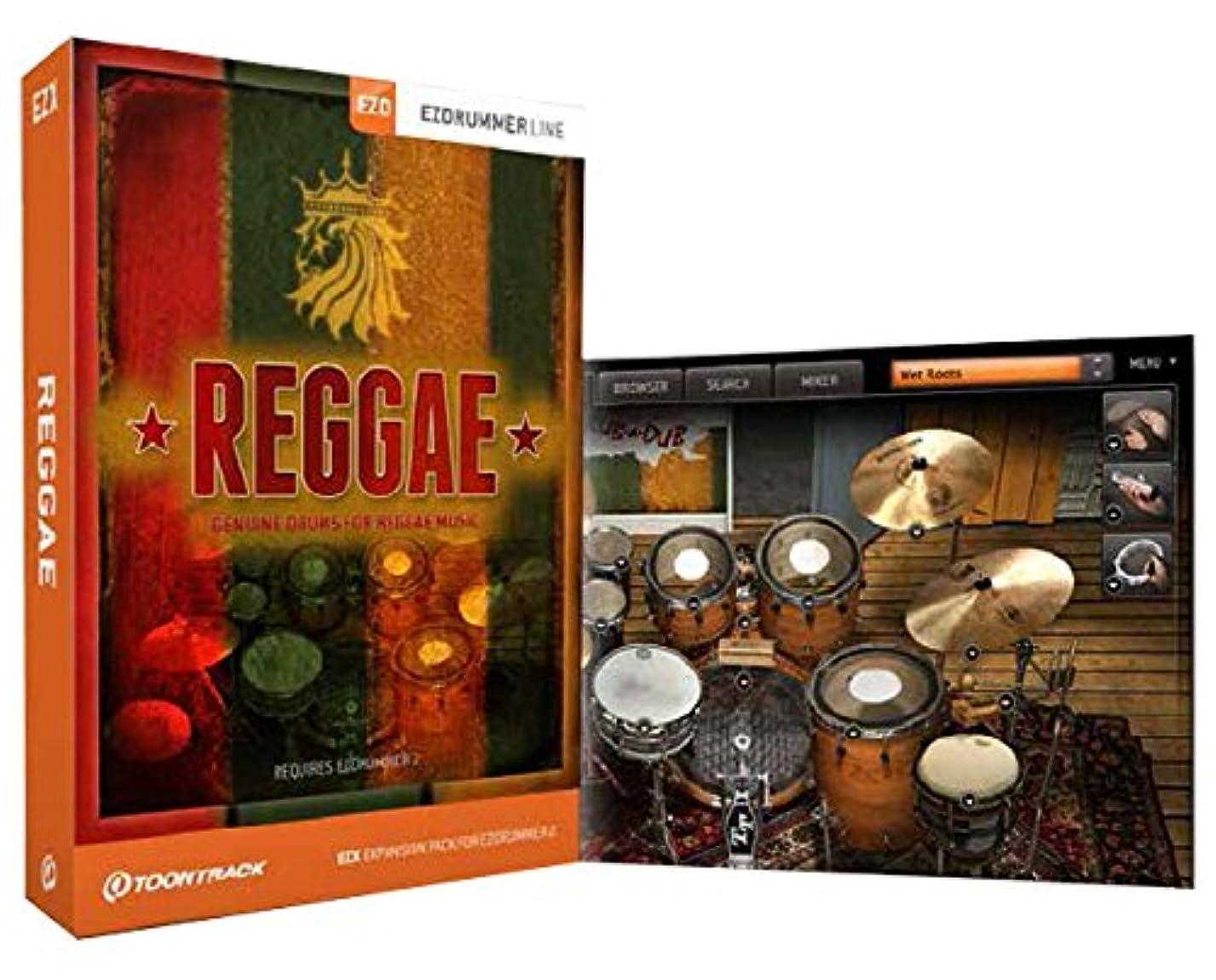 発見するブロンズペルソナ【国内正規品】 EZX REGGAE (EZ drummer / SUPERIOR DRUMMER 2.0 拡張音源) [DVD-ROM]