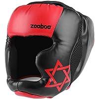 Flexzion MMA Headgear – UFCムエタイテコンドー格闘技スパーリング空手FightingスポーツボクシングWrestling Maya非表示レザーヘルメット保護装置機器
