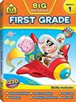 School Zone Publishing SZP06317 Big First Grade Workbook