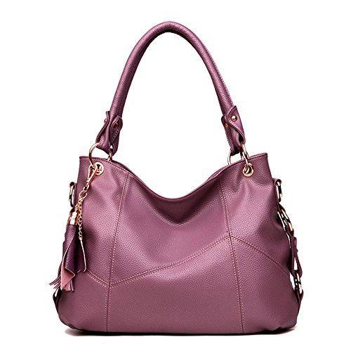 [해외]sunnymall 여성 가방 핸드백 숄더백 토트 백 가죽 가죽 가죽 카우 대용량 지퍼 대각선 절벽 이동식 어깨 걸이 A4 방수 bao-004/sunnymall Women`s Bag Handbag Shoulder Bag Tote Bag Leather Cowhide Leather Cow Leather Large Capacity Fastener ...