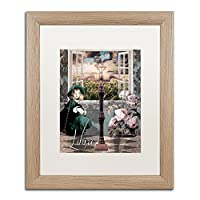 商標Fineアートali4407-t1114mf Art Nouveau Zodiac Libra 16x20 ALI4407-T1620MF