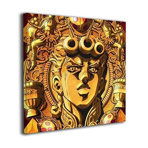 ジョジョの奇妙な冒険黄金の風 装飾画 壁掛け 絵画 アートパネル インテリア ポスター 横 玄関 木製額縁なし 部屋飾り 壁掛け式 現代 壁の絵 軽くて取り付けやすい 居間 背景 モダン