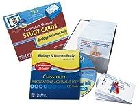 ニューパス学習生物学と人体研究カード、グレード6-10