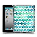 オフィシャル Micklyn Le Feuvre オーシャンリズム&マーメイドテイル クアトロフォイル2 ハードバックケース iPad 2 (2011)