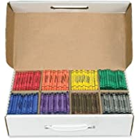 Prang Crayon Master Pack Standard Size Box of 800 Crayons 100 of Each Color 8 Assorted Colors (32350) [並行輸入品]