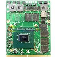 NVIDIA G Force GTX 1060 GDDR5 6GBグラフィックビデオカード Dell Alienware 13 15 17 R2 R3 R4 R5 M18X R1 R2 R3 M17X R4 R5 ゲーミングノートパソコンコンピュータ MXM VGAボードアップグレード用