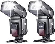 Neewer 2 Pieces TT560 Flash Speedlite for Canon Nikon Panasonic Olympus Fujifilm Pentax Sigma Minolta Leica an