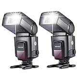 NEEWER カメラ/一眼レンズカメラ用 TT560 フラッシュ・スピードライト 2個セット