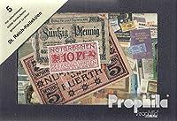 ドイツ語Empire 5異なるNotgeld Serienscheine (紙幣コレクター向け)