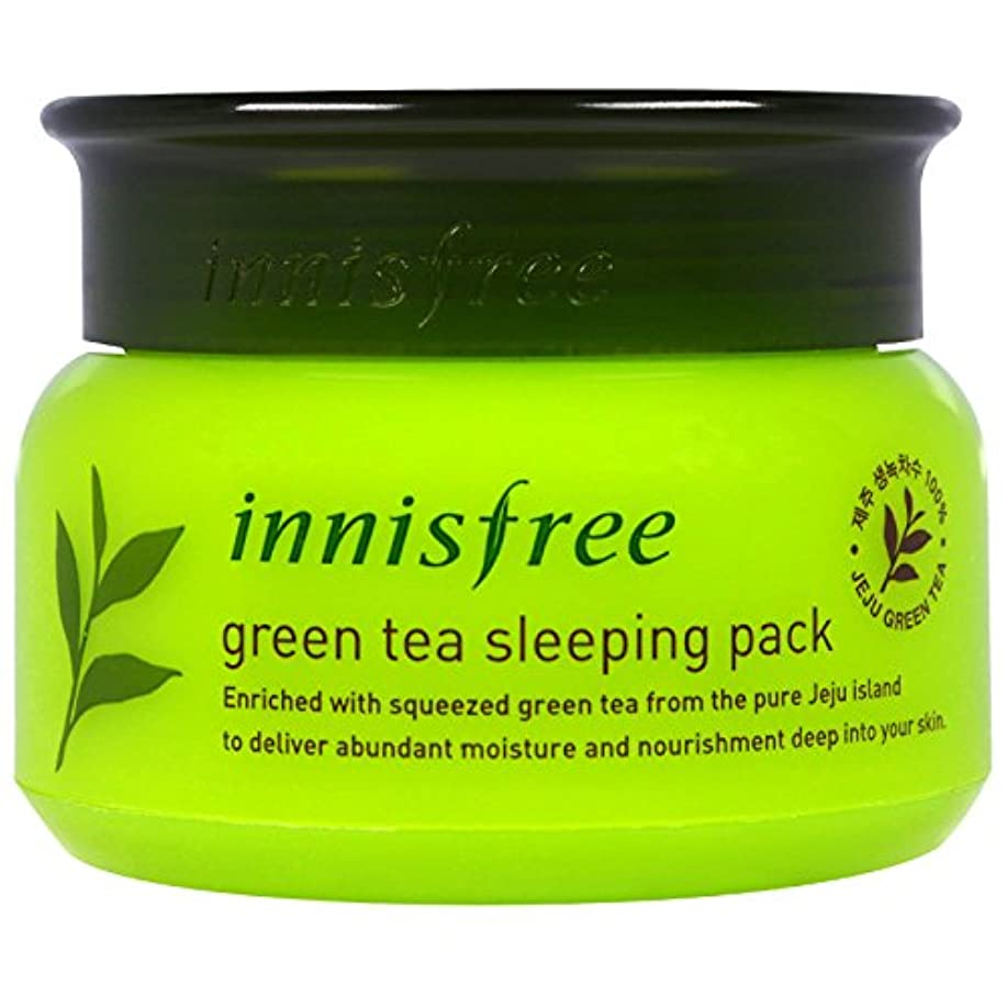 常習的追い出す通り抜けるINNISFREE Green Tea Sleeping Pack (並行輸入品)