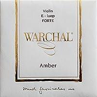 Warchal Amber FORTE ワーシャル アンバー バイオリン弦 701FL E-ステンレススチール・ループエンド【国内正規品】
