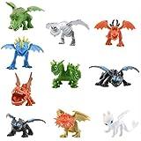 How to Train Your Dragon Dragon Toys Mini Figures - Action Figures 10 pcs 5-6.5cm PVC Action Figures Toy Doll Night Fury Toot