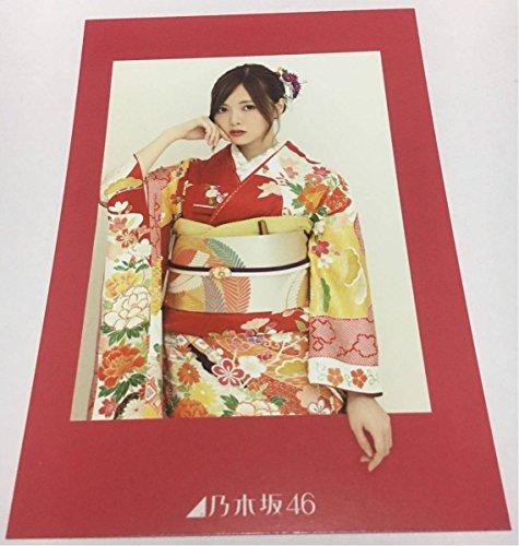 乃木坂46 白石麻衣 2018年カレンダー web shop カレンダーB 購入特典 ポストカード
