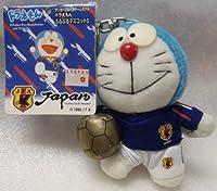 ドラえもん キーホルダー 日本代表チームモデル サッカー ブルブルマスコットS