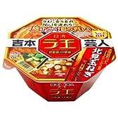 日清 ラ王 麺下分け目の戦い No.1食材 背脂濃コク醤油 124g×12個
