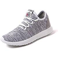(Make 2 Be) メンズ アッパーニット スニーカー フィット 軽量 靴 シューズ 通気性 ランニング ジョギング ウォーキング アウトドア MF55