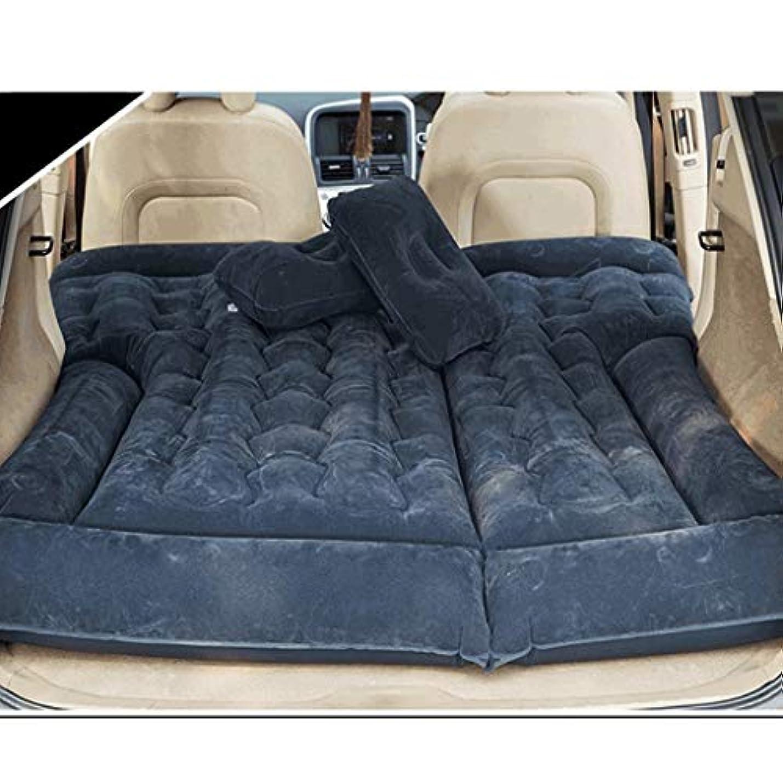 ピン百年カウンタアウトドアライフ 車のインフレータブルベッド屋外の車のベッド車の後部座席の子供旅行ベッド寝台折りたたみ車用品 (Color : Black, Size : B)