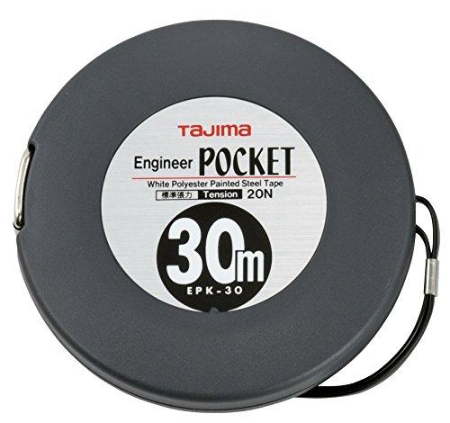 タジマ エンジニヤ ポケット 幅10mm 長さ30m 張力20N EPK-30BL