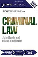 Optimize Criminal Law by John Hendy Odette Hutchinson(2015-03-26)