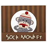 Sock Monkey Red Activity Placemats ソックス猿赤活動プレースマット?ハロウィン?クリスマス?