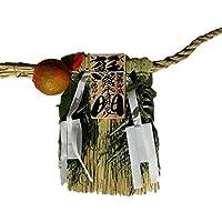 Moa Feteli(モアフェティ) 国産 伊勢しめ縄■しめ縄 注連縄■工房手作り ■大きいサイズ■ 蘇民将来 幅 70x 垂れ 36cm