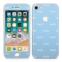 igsticker iPhone8 専用 スキンシール 全面スキンシール フル 背面 側面 正面 液晶 ステッカー 保護シール 050745