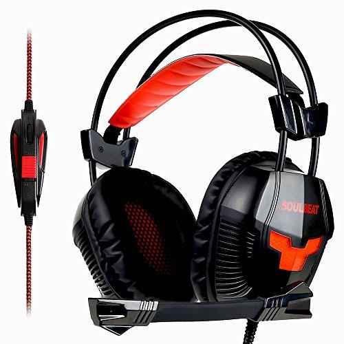 ゲーミングヘッドセット SOULBEAT PS4 ヘッドセット ヘッドホン LB-901 ゲーミング FPS 対応 ヘッドフォン マイク 付属 ゲーム 用 PC に対応 【国内正規品】