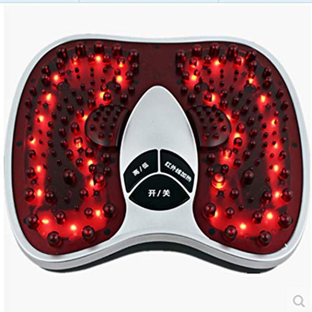 人気のであること衝突する調整可能 足マッサージ、熱の改善、循環の改善、202マッサージヘッドのf、硬い筋肉の柔らかさ、鎮痛トリートメント リラックス, red