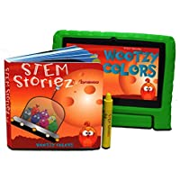STEM Storiez Books for Early Learners. Interactive Pre-STEM Learning for Kids 3-7 (Wootzy Colours)