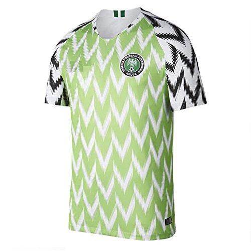 2018年のサッカーユニフォームナイジェリアのファンの記念碑大人の子供の若者のジャージースーツトレーニングチームの制服、Xl Sykdybz