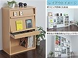 ディスプレイラック ディスプレイ本棚 フラップ ディスプレイラック フラップ 2枚扉