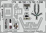 エデュアルド 1/72 F-35B エッチングパーツ (イタレリ用) プラモデル用パーツ EDU73702