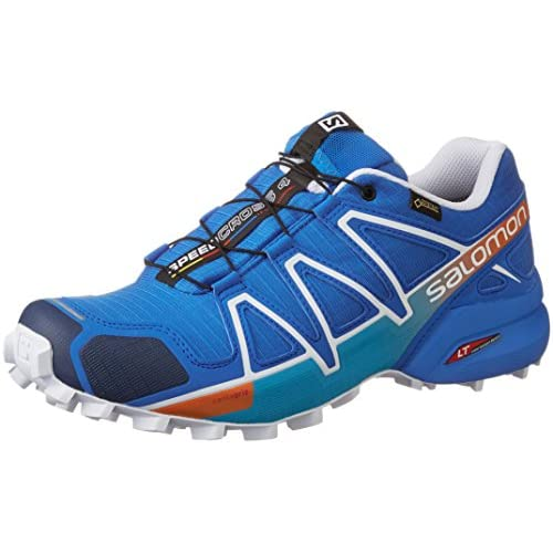 [サロモン] SALOMON トレイルランニングシューズ SPEEDCROSS 4 GTX L39072200 BRIGHT BLUE / UNION BLUE / WHITE (BRIGHT BLUE / UNION BLUE / WHITE/28)