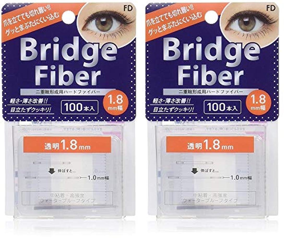大いに大破検索エンジンマーケティングFD ブリッジファイバーII (眼瞼下垂防止テープ) 透明 1.8mm×2個セット