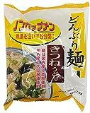 トーエー食品 どんぶり麺・きつねうどん 77.3g×4袋