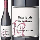 新酒/[Philippe Pacalet]フィリップ・パカレ、ボジョレー・プリムール 2019 赤ラベル (赤) 750ml 航空便 / 自然派