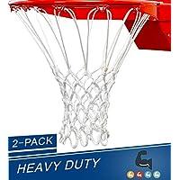 Katop 2 - PackバスケットボールネットHeavy Duty All Weather Thick Net交換12ループアウトドア、インドア