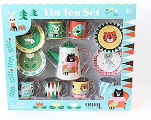 OMM-design インゲラ・アリアニウス-Tin Tea Set-Cafeオーナーなりきりセット(ブリキのティーセット11pcs) 北欧