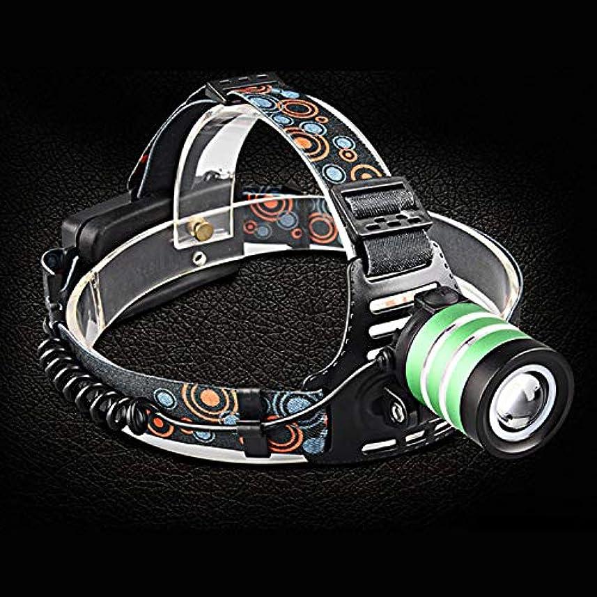 音楽家ロンドン欺く屋外T6ヘッドマウント懐中電灯のヘッドライト、LED長距離充電グレアフィールドフィッシングライト