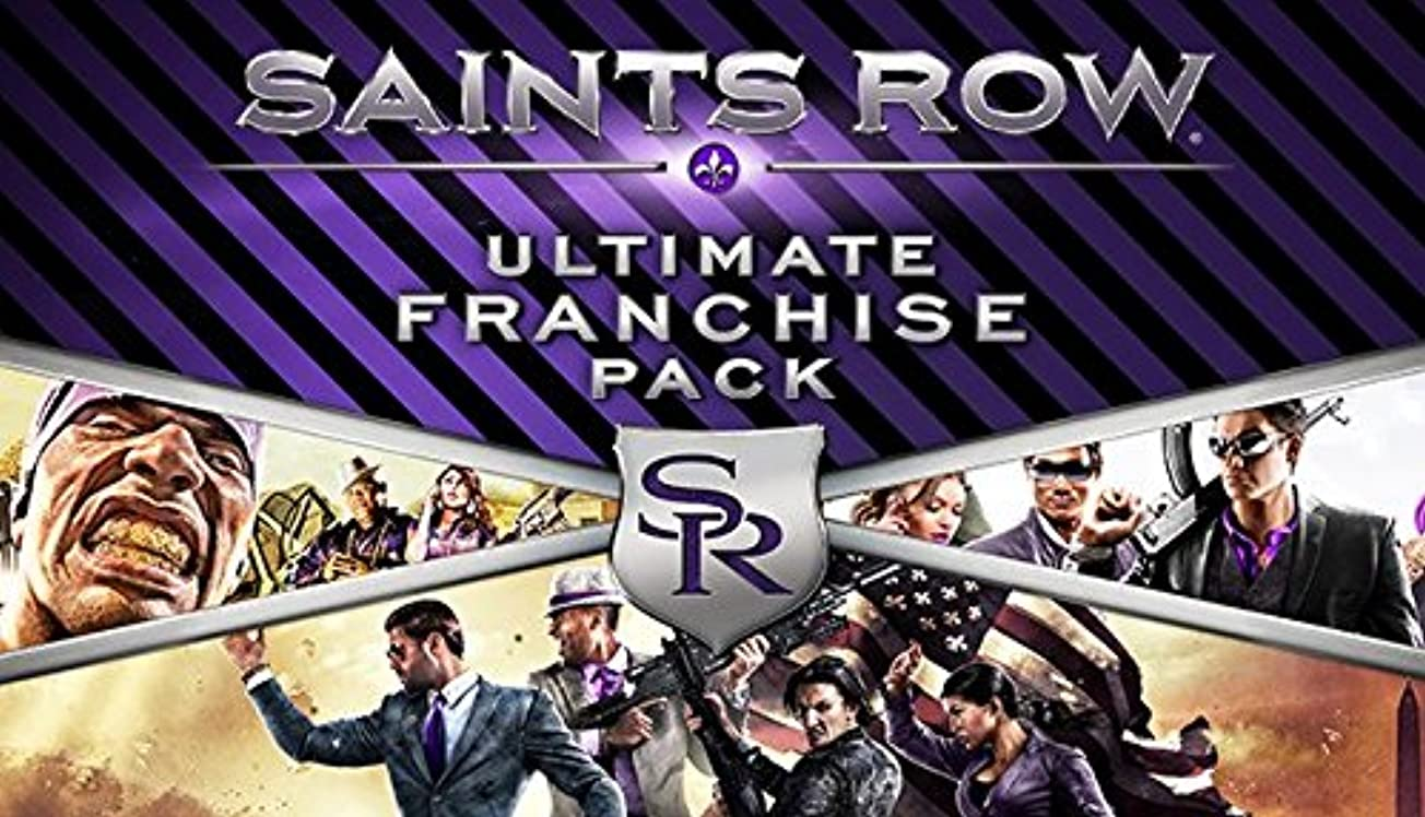 チケット学習者ボイドSaints Row Ultimate Franchise Pack [オンラインコード]
