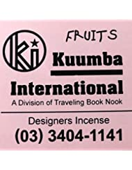 (クンバ) KUUMBA『incense』(FRUITS) (FRUITS, Regular size)