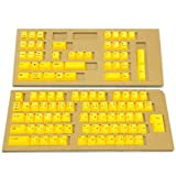 Amazon.co.jp東プレ キーキャップセット REALFORCE108KT4 PBT製 Realforce日本語配列108キーセット 昇華印刷  イエロー SA0100-KT4