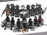 LEGO互換品 特殊部隊 SWAT8体セット 武器多数