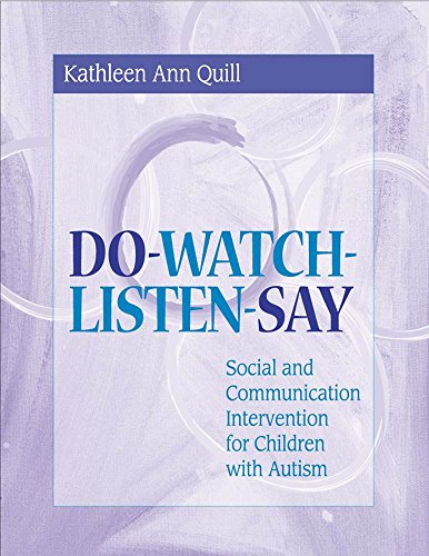 Download Do-Watch-Listen-Say: Social and Communication Intervention for Children With Autism 1557664536