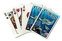 フロリダ州–Sea Turtles ( Playingカードデッキ–52カードPokerサイズwithジョーカー)