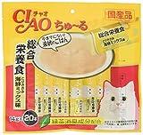 チャオ (CIAO) 猫用おやつ ちゅ~る 総合栄養食 とりささみ 海鮮ミックス味 14g×20本入