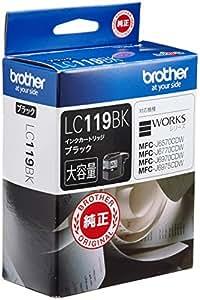brother インクカートリッジ大容量タイプ (ブラック) LC119BK