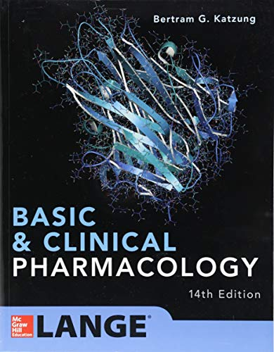 Download Basic and Clinical Pharmacology 14th Edition 1259641155