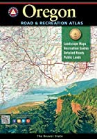 Oregon Benchmark Road & Recreation Atlas【洋書】 [並行輸入品]